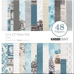 Papeles Scrapbooking Frosted (30x30)