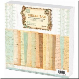 Papeles Scrapbooking Prima Marketing - Ledger Pad (30x30)