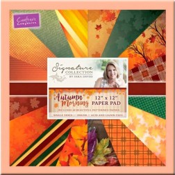 Papeles Scrapbooking Autumn Morning (30x30)