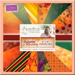 Papeles Scrapbooking Autumn Morning (15x15)