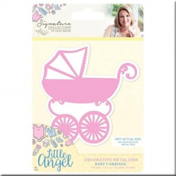 Troquel Baby Carrige Little Angel