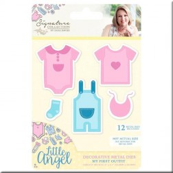 Troqueles My First Outfit Little Angel