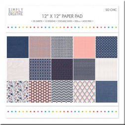 Papeles Scrapbooking So Chic (30x30)