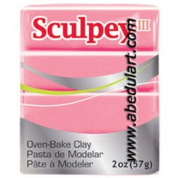 Sculpey III - Rosa Chicle (1142)