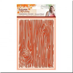 Carpeta Embossing Natural Wood Autumn Morning