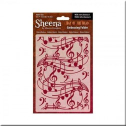 Carpeta Embossing Musical Madness Sheena Douglass