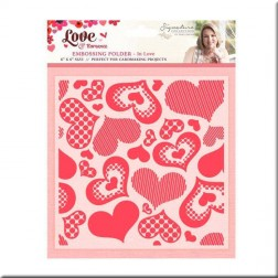 Carpeta Embossing In Love Love & Romance