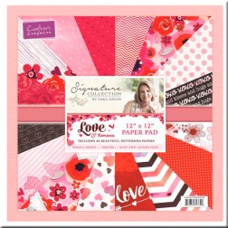 Papeles Scrapbooking Love and Romance (30x30)
