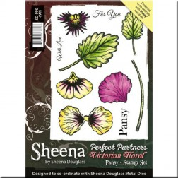 Sellos Pansy Sheena Douglass