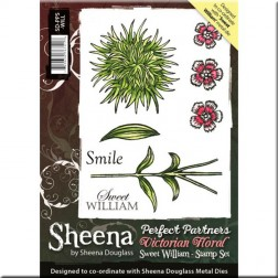 Sellos Sweet William Sheena Douglass