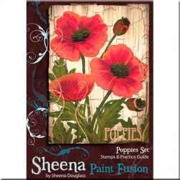 Sellos Poppies - Sheena Douglass