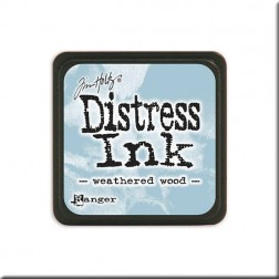 Tinta Distress Ink Mini - Weathered Wood