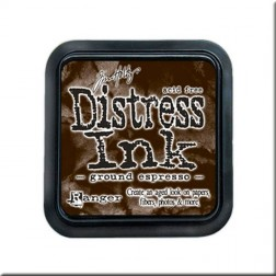 Tinta Distress Ink - Ground Espresso