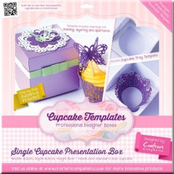 Patrón - Single Cupcake Presentation Box
