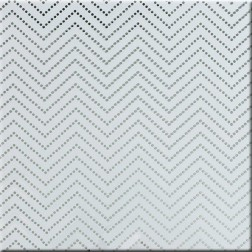 Acetato transparente Chevron Dot Silver (30,5 x 30,5)