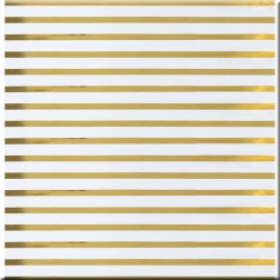 Acetato transparente Stripe Gold (30,5 x 30,5)