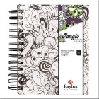 Cuaderno Memory Journal Tangle Orchid (blanco)