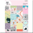 Papeles Scrapbooking - Little Meow (A4)