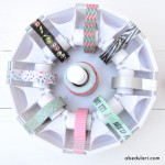 Organizando el rincón de Scrap (1): los dispensadores de Washi Tape