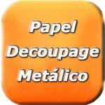 Papel Decoupage Metálico