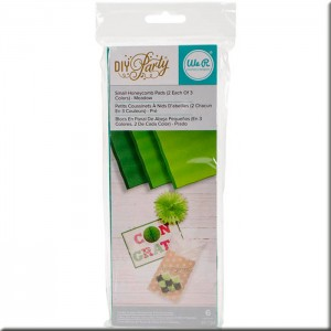 """DIY Party Honeycomb Pads (3""""X8"""") Meadow"""