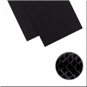 "DIY Party Honeycomb Pads (5,75""X12"") Black"