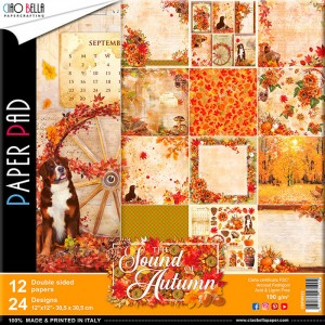 Papeles Scrapbooking The Sound Of Autumn (30x30)