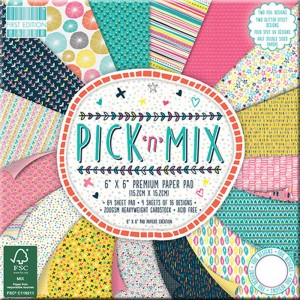 Papeles Scrapbooking Pick 'n' Mix (15x15)