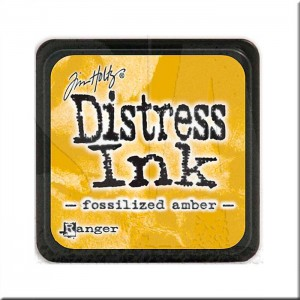 Tinta Distress Ink Mini - Fossilized Amber