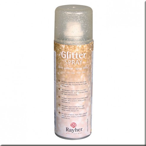 Spray Glitter - Oro