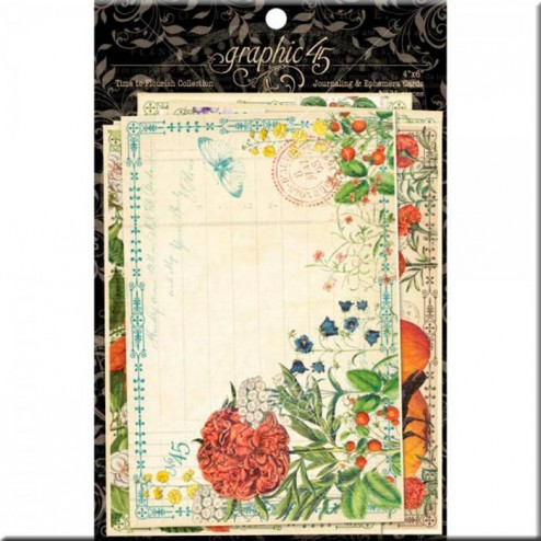 Tarjetas Journaling & Ephemera Time To Flourish