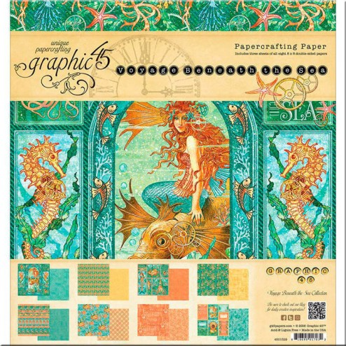 Papeles Scrapbooking Voyage Beneath The Sea (20x20)