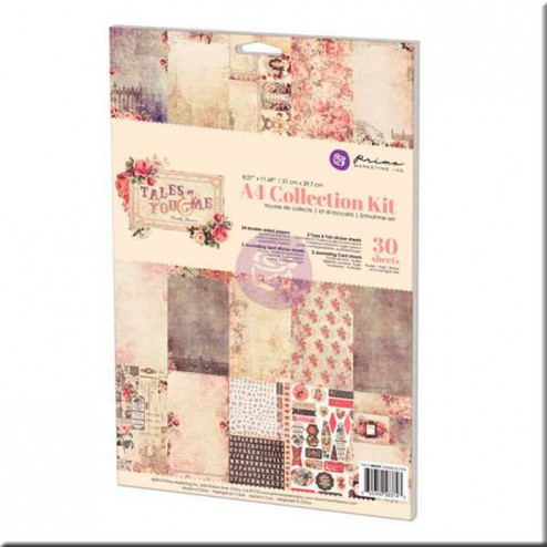 Kit Colección Scrapbooking Tales of You & Me (A4) Prima