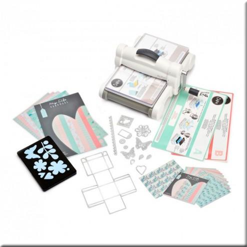 Kit Big Shot Plus White & Gray (A4)