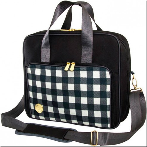 Bolso Crafter's Shoulder Bag - Plaid Black
