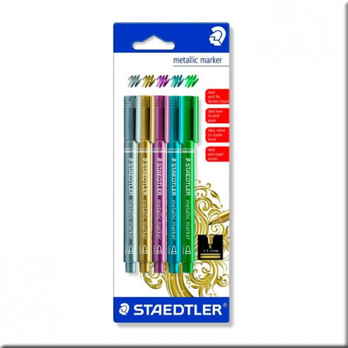 Rotuladores Metálicos Staedtler