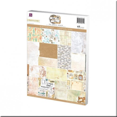 Papeles Scrapbooking Life Time (A4)