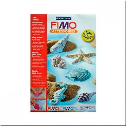 Moldes FIMO Sea Shells