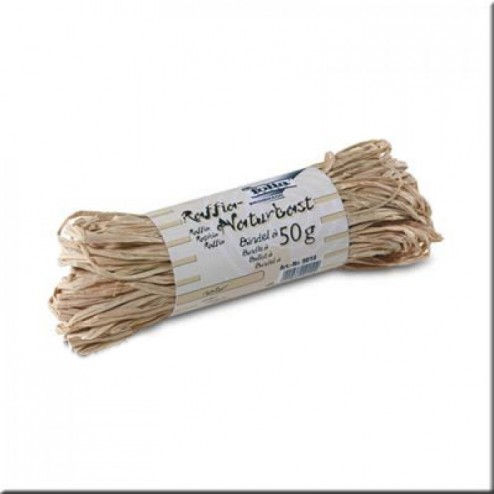 Rafia Natural color natural - 50grs