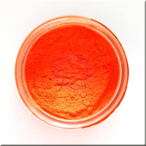 Mica Powder Tangerine (17g) Finnabair art ingredients