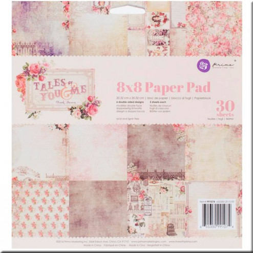 Papeles Scrapbooking Tales of You & Me (20x20)