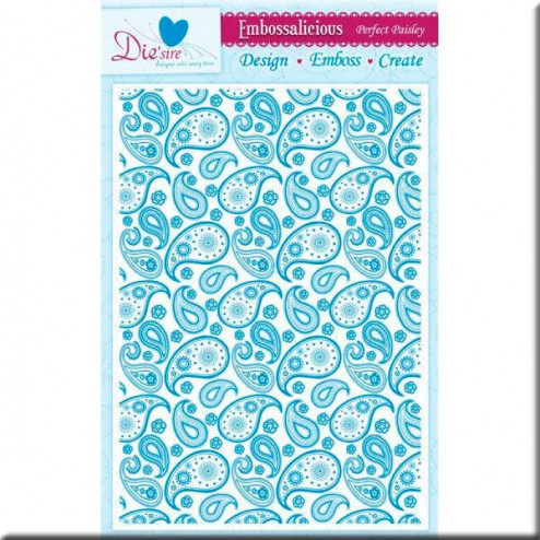 Carpeta Embossing A4 - Perfect Paisley