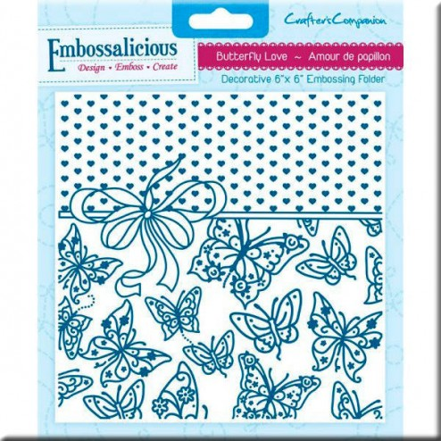 Carpeta Embossing - Butterfly love