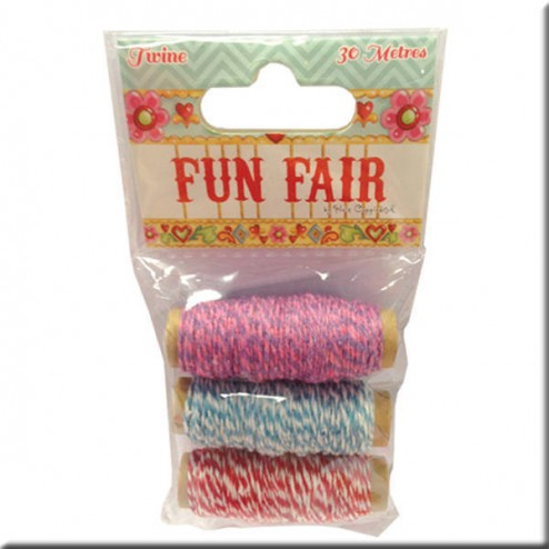 Cordones trenzados - Fun Fair