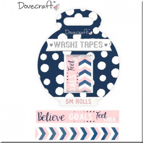 Dovecraft Washi Tapes Planner Health