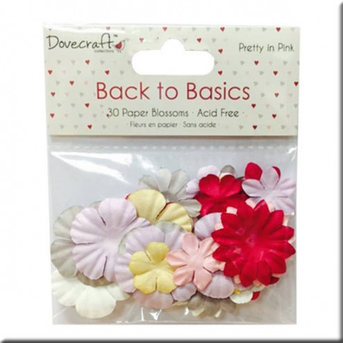 Flores de Papel - Back to Basic Pretty in Pink