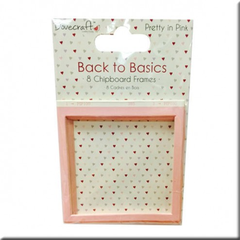 Marcos de Cartón - Back to Basic Pretty in Pink