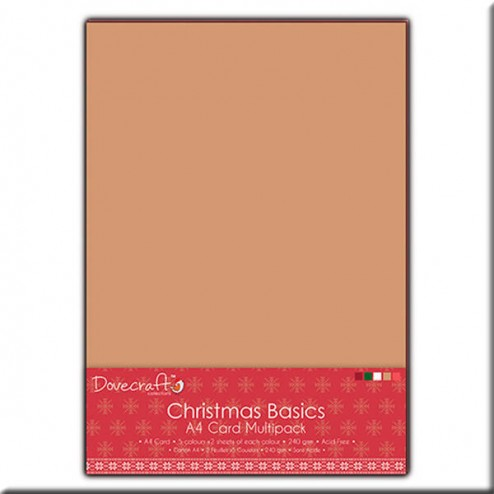 Papeles lisos Multicolor A4 - Christmas Basics