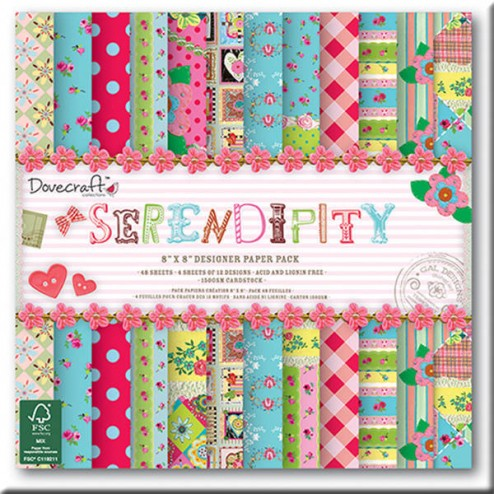 Papeles Scrapbooking - Serendipity (20x20)