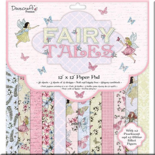 Papeles Scrapbooking Fairy Tales (30x30)